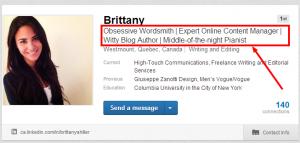 LinkedIn Professional Header