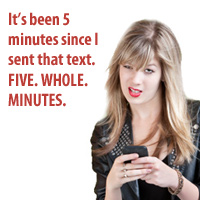Response Time Text