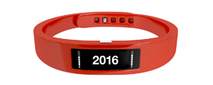 Wearble technology like the Fitbit are gaining popularity in 2016